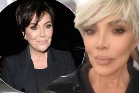 what is kris jenner hair color kris jenner dyes hair blonde to match daughters kim and khloe