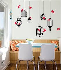 Chandelier Wall Decal Bird Cage Wall Decals The Decal Guru