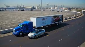 electric truck toyota tests fuel cell truck tesla delays electric truck again