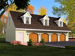 3 Car Garage Plans With Apartment Above 3 Car Garage With Loft Car Garage Plans From Design Connection