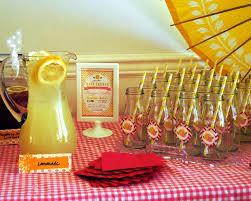 Baby Shower Decorations Yellow Pink Lemonade Baby Shower Baby Shower Ideas Themes Games