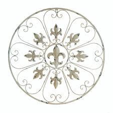 circular fleur de lis wall decor wholesale at koehler home decor