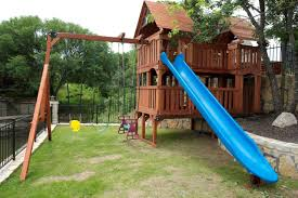 furniture swing and slide knightsbridge wooden playsets for kids