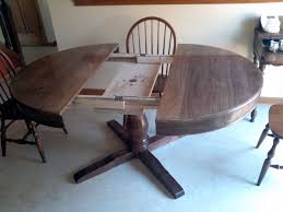 table with slide out leaves dining room table slides spurinteractive com