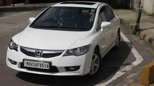 Honda Civic India Interior 2011 Honda Civic Vmt With Sunroof Mumbai Youtube