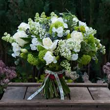 White Rose Bouquet Scented White Roses Bouquet Moyses Stevens