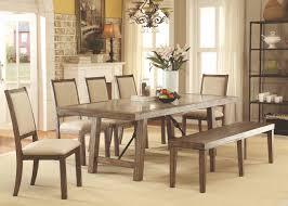 rustic oak dining table furniture of america cm3562t rustic oak dining table with 8 chairs