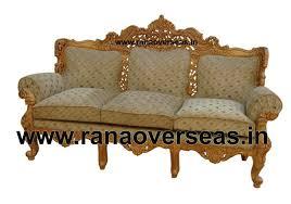 Rana Overseas Inc Wooden Sofa Set - Wood sofa designs