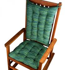 retro fabric rocking chair cushion pad with piping tie with rocker pads cushions also rocker cushion set jpg
