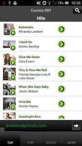 ringback tones for android country ringback tone apk free audio app for