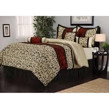 Comforter At Walmart Bella 7 Piece Bedding Comforter Set Walmart Com