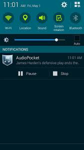 in background android how to listen to in the background on android no