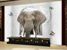 apple wallpaper elephant custom 3d photo wallpaper kids room mural naughty elephant and apple