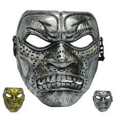 Spartan Halloween Costume Halloween Plastic Mask Fashion Theme Scary Mask Film