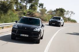 porsche suv blacked out porsche cayenne 2018 pre launch review cars co za