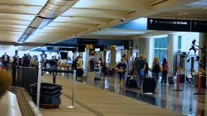 Colorado what is a travelers check images Denver colorado usa june 22 2016 travelers waiting for their resiz