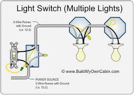 wiring diagram two lights operated by one switch wiring diagram