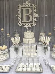 Candy Buffet Wedding Ideas by Candy Buffet Ideas Wedding White Silver And Baby Pink Candy