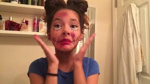 creepy doll dead melanie martinez halloween makeup tutorial