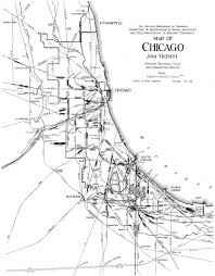Chicago Trains Map by Chicago Railroad Yards Chicago Railway Map Chicago Map Chicagos