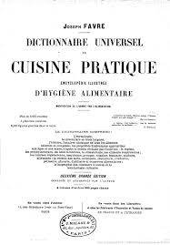 hygi e alimentaire en cuisine dictionnaire universel de cuisine pratique encyclopédie illustrée