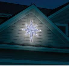 christmas 4 u0027 led lighted star of bethlehem outdoor hanging prop