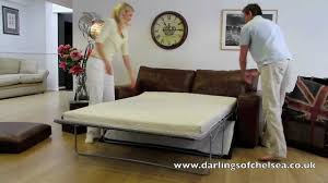 darlings of chelsea how to set up the sloane sofa bed youtube