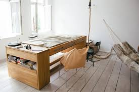 transforming desk bed for small spaces by bless
