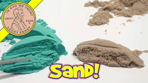 comparing moon sand to brookstone sand time to play