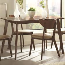 coasters for table legs kaia dining table with angled legs rotmans kitchen tables