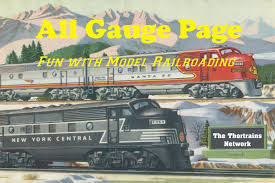 garden railway layouts all gauge model railroading page