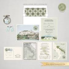 destination wedding invitation tuscany by cestlavieinvitations