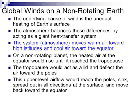warm up 3 21 08 the deflection of wind due to the coriolis effect