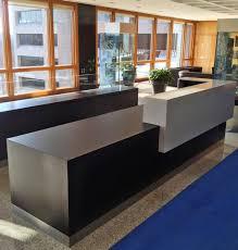 Corian Reception Desk Pepsico Reception Desk Decarle Cabinetry
