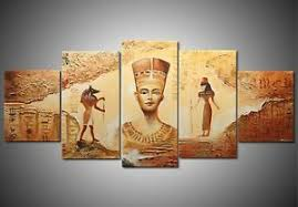 ancient egyptian home decor unframed ancient egyptian abstract art canvas painting prints