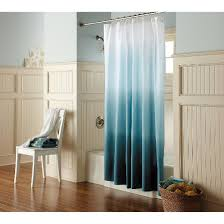 How Much Fabric To Make A Shower Curtain Ombre Shower Curtain Teal Threshold Target