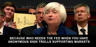 Congress Meme - yellen bitcoin trolled in testimony before congress