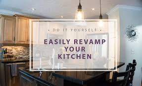 Revamp Kitchen Cabinets Thediydiary Easily Revamp Your Kitchen Simple Tips