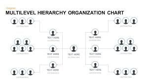 multilevel hierarchy organization chart keynote and powerpoint