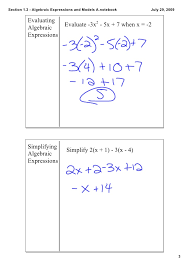homework help simplifying algebraic expressions paper money