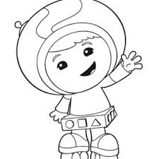picture team umizoomi coloring color luna