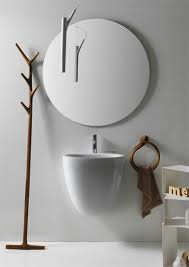Round Bathroom Mirrors by Furniture Sweet Bathroom Decoratio White Round Mirror And Mirrors