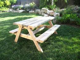 this old house picnic table 13 free picnic table plans in all shapes and sizes