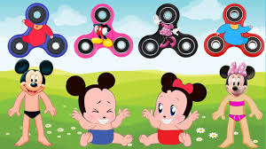mickey mouse u0026 minnie mouse wrong dress fidget spinners baby lear