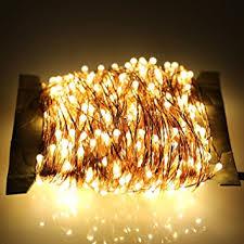 Home Decoration Light Amazon Com Er Chen 50m 500 Led Warm White Copper Wire String