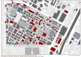 Usc Parking Map Usc Hsc Map Chandler Mall Map Map Of Oklahoma State