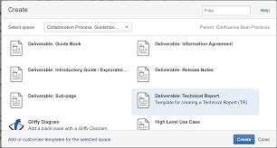 confluence best practices collaboration process guidance and