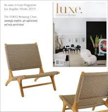 Wicker Patio Furniture Los Angeles - teak warehouse outdoor furniture featured in the press