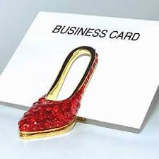 Business Card Holder Amazon Amazon Com Women U0027s Red High Heel Business Card Holder