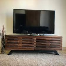 mid century modern tv cabinet mid century modern tv consol tv stand tv unit by woodbeewoodworks